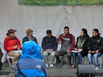 アースデイ2013_ネパールスタッフのトーク