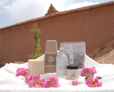 モロッコ素材のコスメ