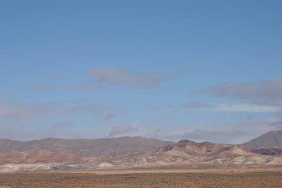 鉱山の遠景
