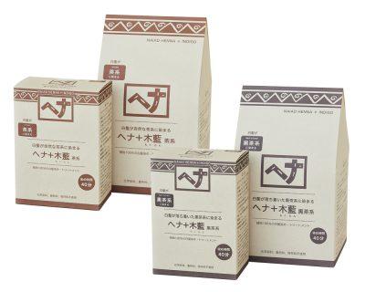 ヘナ+木藍_茶系_黒茶系