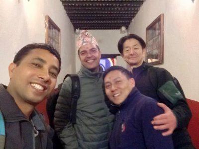 ネパール探検メンバー
